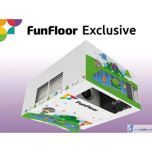 Interaktywna Podłoga zestaw FunFloor Exclusive dla edukacji i zabawy 245 gier