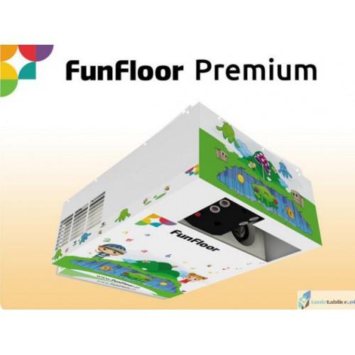 Interaktywna Podłoga zestaw FunFloor Premium dla edukacji i zabawy 210 gier