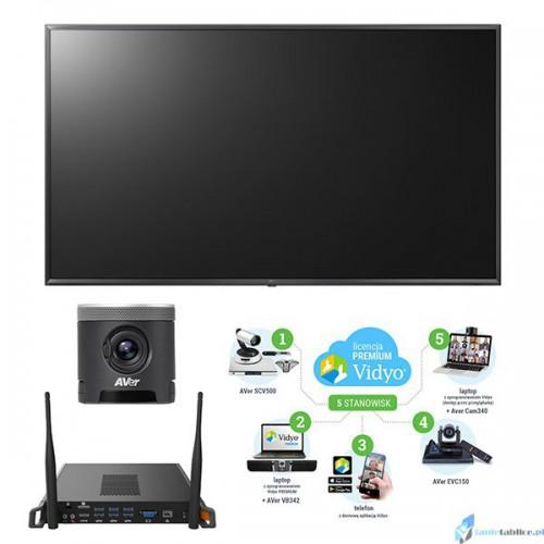 Zestaw do interaktywnej wideokonferencji Avtek
