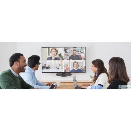 Zestaw do interaktywnej wideokonferencji Samsung Flip 2 + Logitech MeetUp