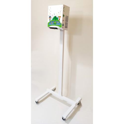 Funfloor Mobilny - podłoga interaktywna ze stojakiem mobilnym - 210 gier