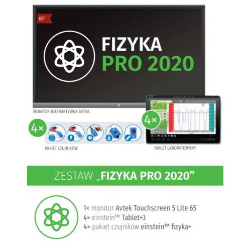 Laboratorium cyfrowe Zestaw FIZYKA PRO 2020