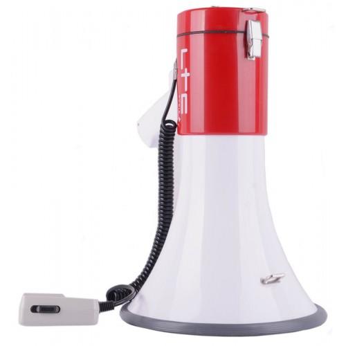 MEGAFON z syreną LTC 60W USB/SD/MP3
