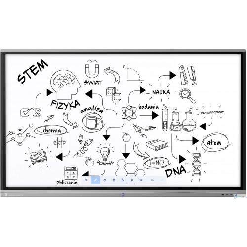 Monitor interaktywny Avtek Touchscreen 5 Connect+ 65 dla szkół