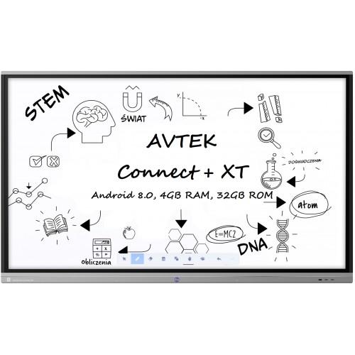 Monitor interaktywny Avtek Touchscreen 5 Connect+ 65 XT