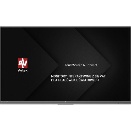 Monitor interaktywny Avtek TouchScreen 6 Connect 65