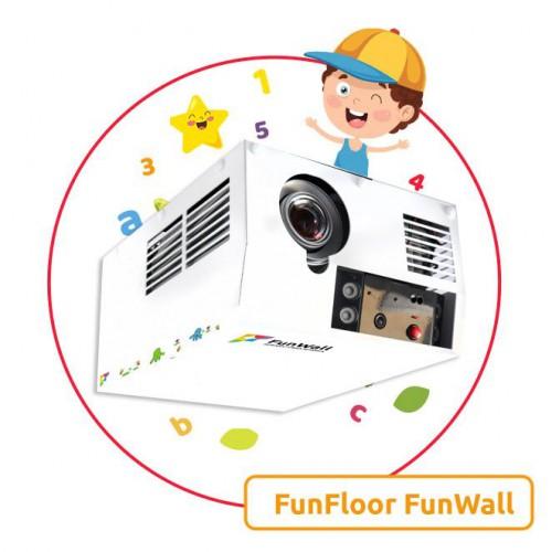 Interaktywna ścianka zestaw FunWall magiczna ściana