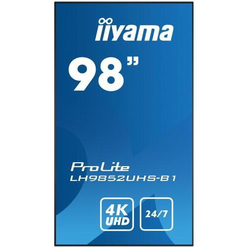 "Monitor wielkoformatowy iiyama ProLite LH9852UHS-B1 98"" 24/7 4K"