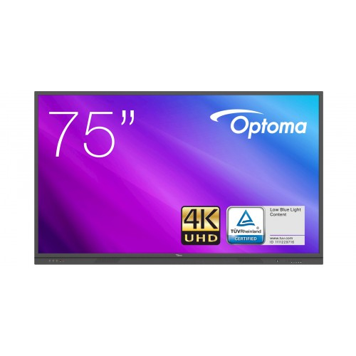 Monitor interaktywny Optoma 3751RK Seria 3 75 cali