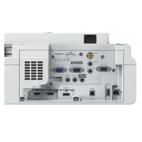 Projektor Epson EB-735F z uchwytem - laserowy UST