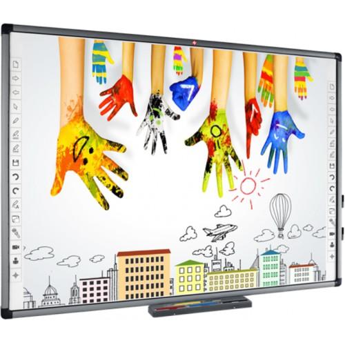 Zestaw interaktywny Avtek TT-BOARD 80 PRO + ViewSonic PS501X+ uchwyt ścienny