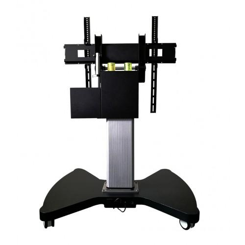 Mobilny statyw-stół z elektryczną regulacją do monitora interaktywnego