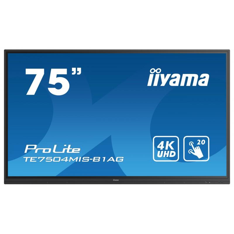 "Monitor interaktywny 75"" IIyama ProLite TE7504MIS-B1AG"