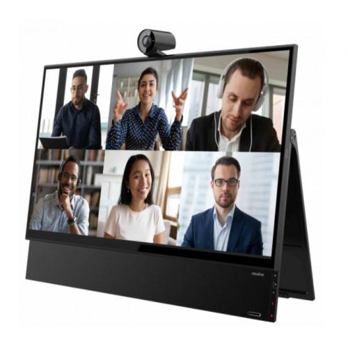 "Monitor interaktywny na biurko Newline Flex TT-2721AIO 27"" kamera 4K, 8 mikrofonów"