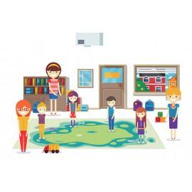 Podłogi i ścianki interaktywne dla dzieci i dorosłych