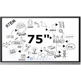"""Monitory interaktywne 75"""" cali"""
