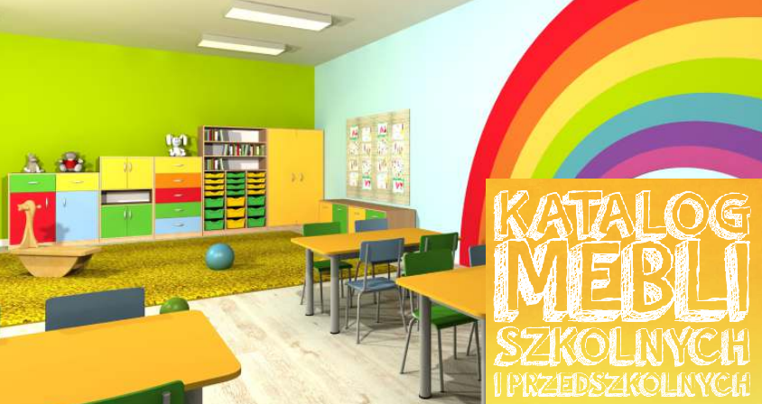 Katalog mebli szkolnych 2019